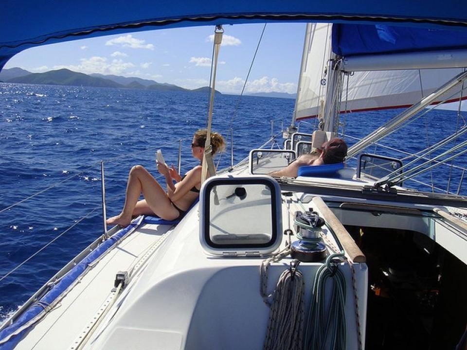 Charter vela alle Eolie