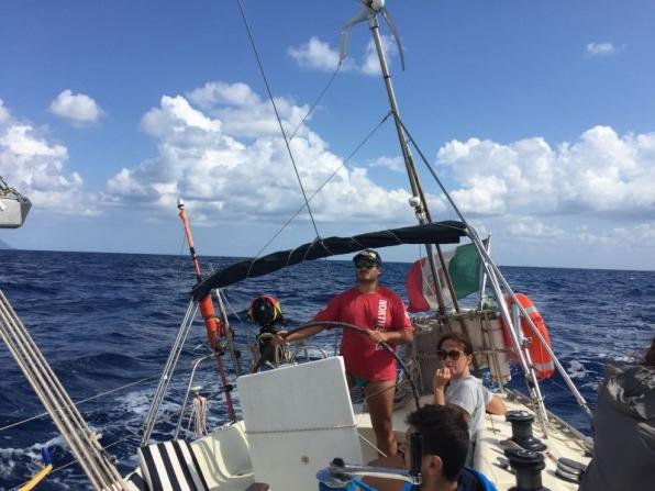 Uscite giornaliere in barca a vela da San Felice Circeo
