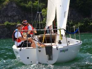 Team Building in barca a vela Lago d'Iseo