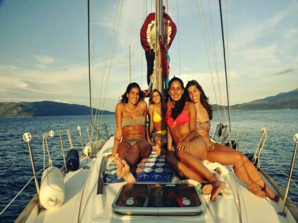 Addio al nubilato in barca a vela Trieste