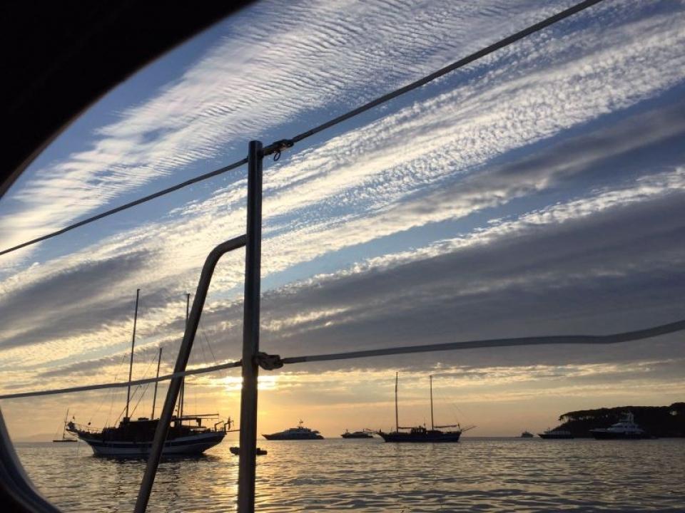 Gita turistica barca Golfo Paradiso