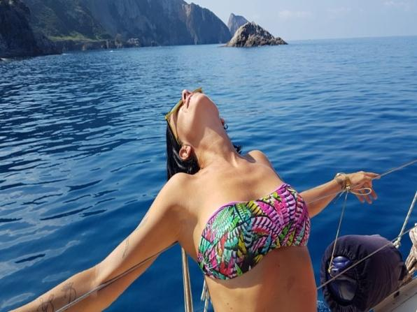 Escursione in barca a vela a Terracina