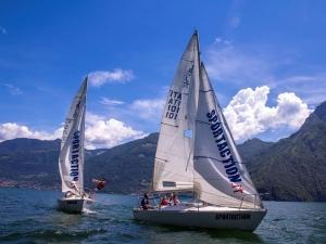 Corso vela per adulti e bambini al lago di Iseo