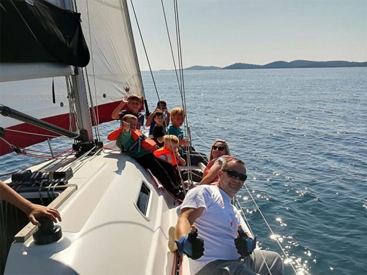 Campi estivi in barca vela Elba