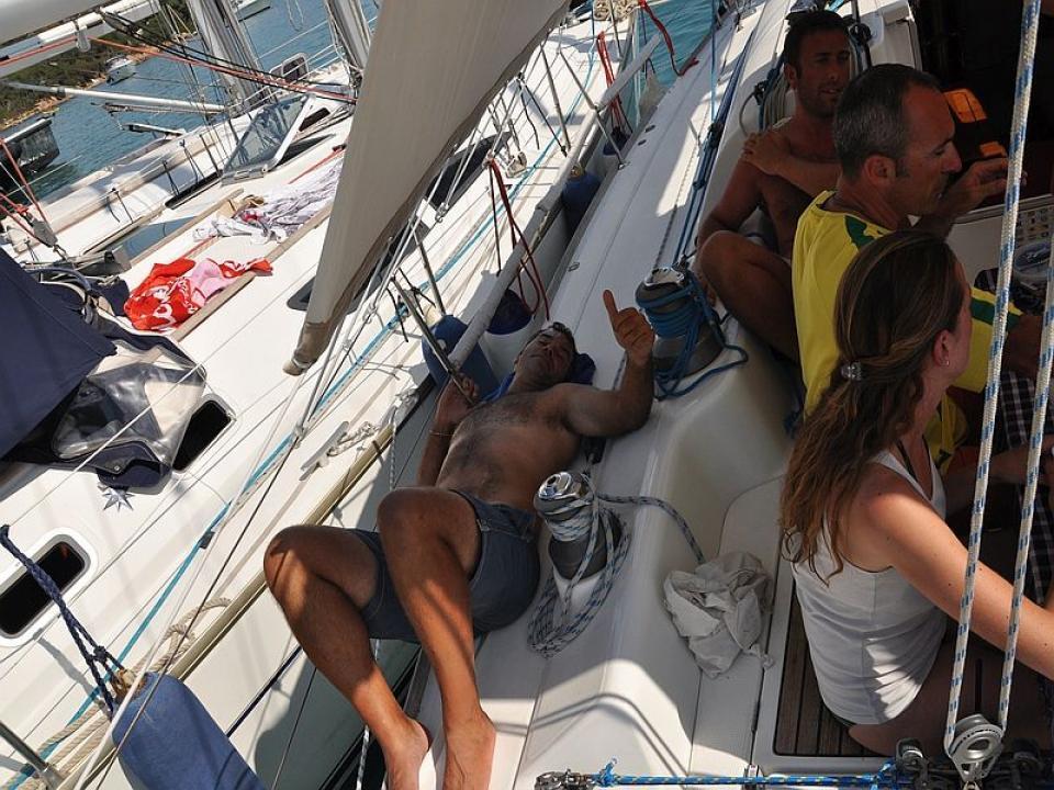 Flottiglia e relax alla Maddalena
