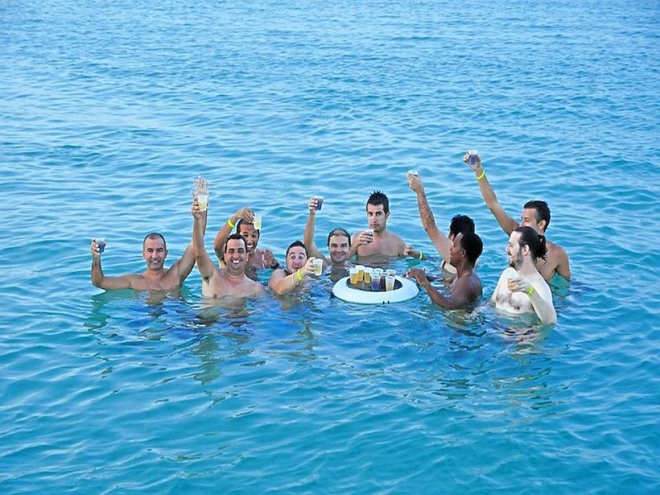 Addio al celibato in barca Istria