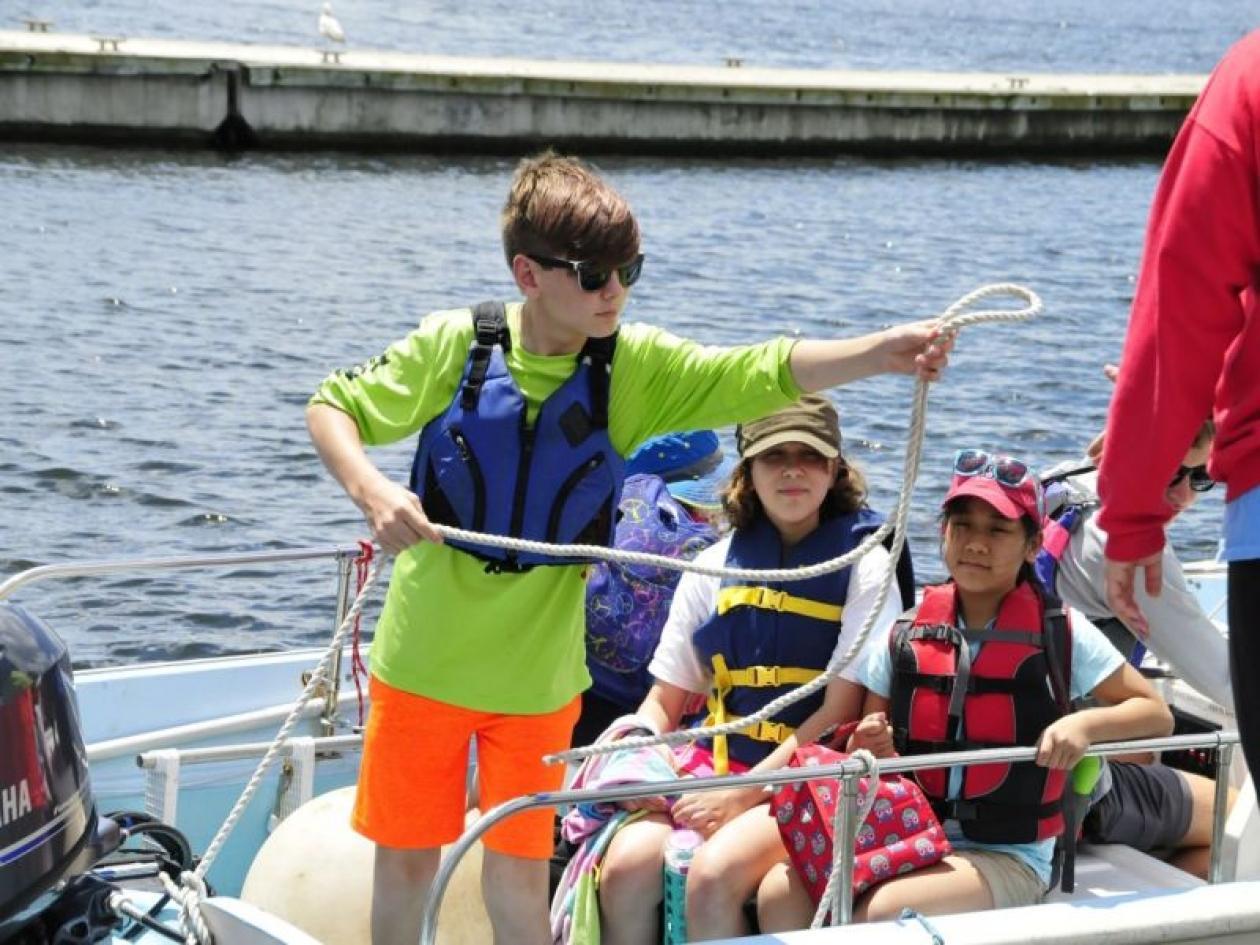 Campi estivi in barca vela Portovenere