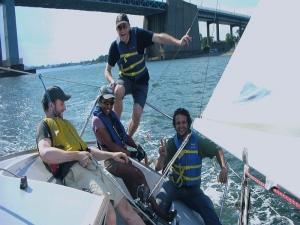 Tour didattici barca vela Anzio