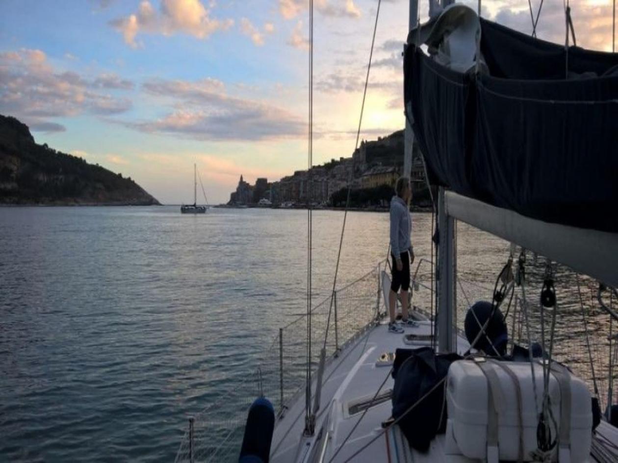 Ponte di Ognissanti in barca a vela Portovenere