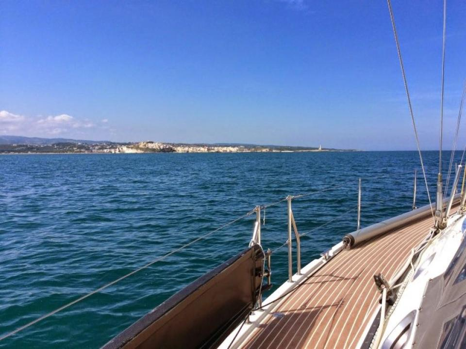 Sant'Efisio in barca a vela a Cagliari