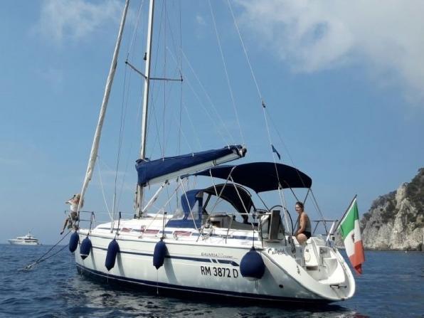 Gita in barca a vela da Terracina