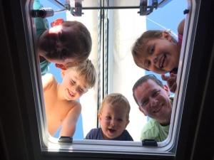 Campi estivi in barca a vela per scuole