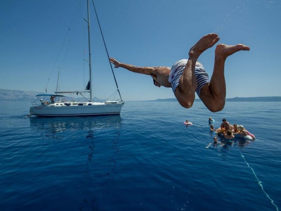 Charter con skipper in Corsica