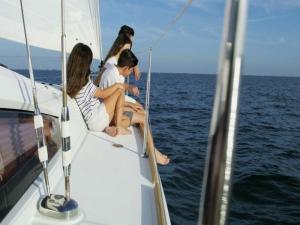 Gite scolastiche in barca a Ponza e Palmarola