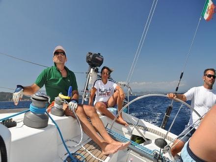 Escursioni in barca a vela Liguria