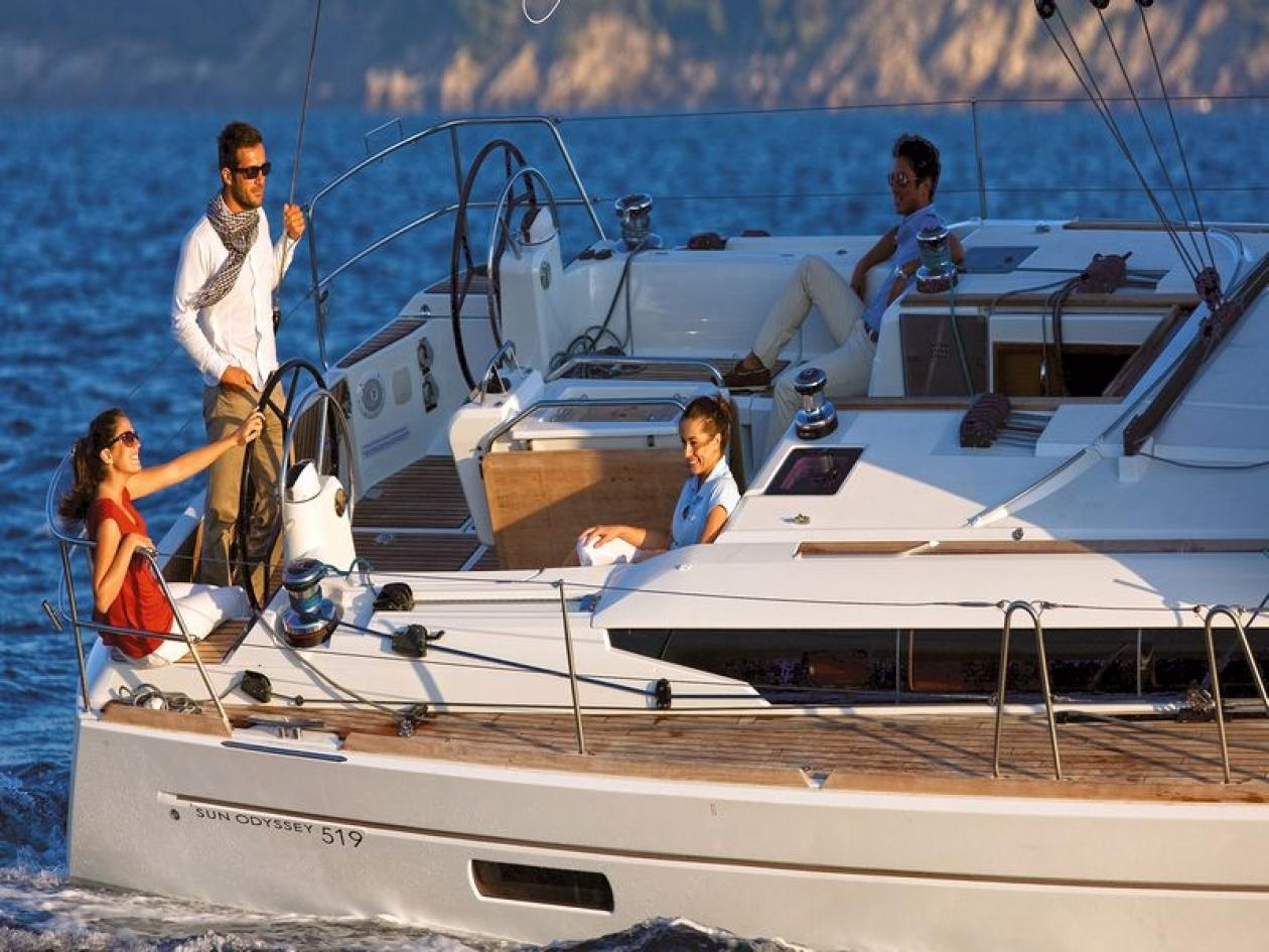 Pasqua in barca a vela Costiera Amalfitana