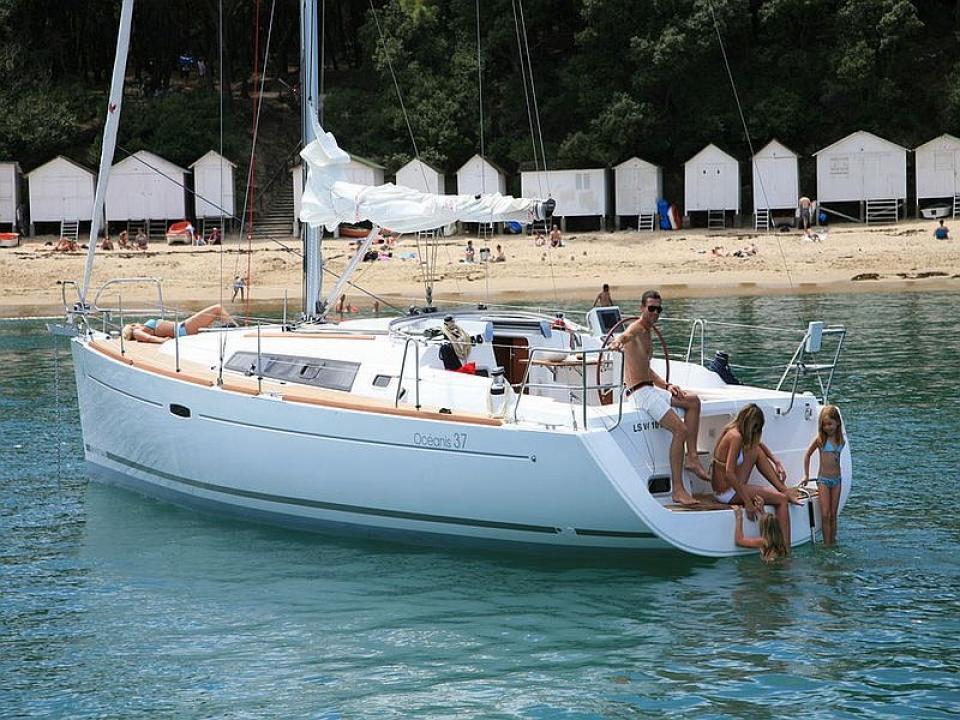 Gita in barca a vela con la Famiglia