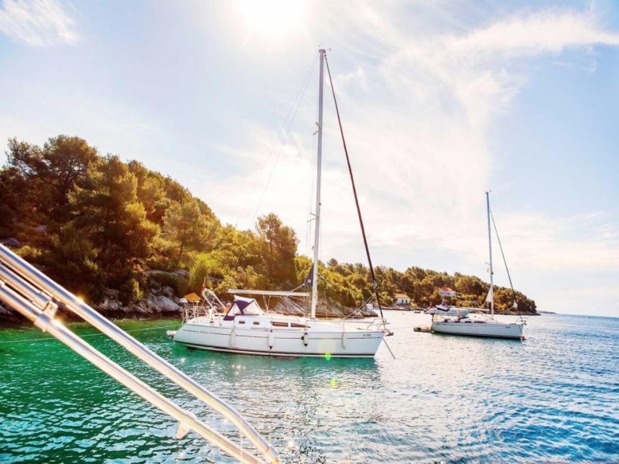 Settimana di Pasqua in barca a vela in Dalmazia