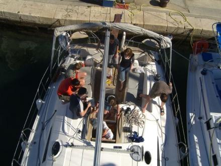 Capodanno in barca vela in Costa Azzurra