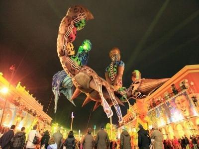 Carnevale in Costa Azzurra
