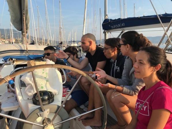 Corsi in barca a vela per ragazzi