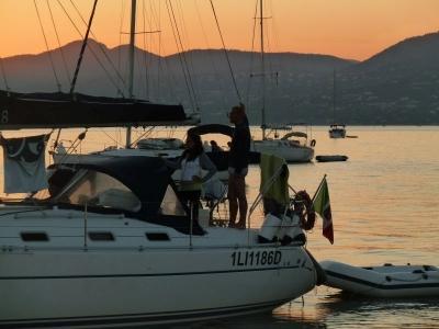 Pasqua vela Isola d'Elba