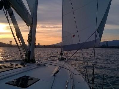 Ponte di San Giovanni in barca a vela alle 5 Terre