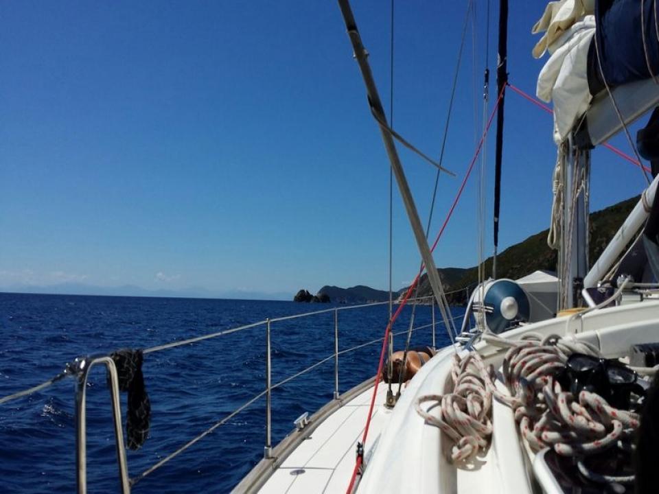 Noleggio barca a vela con skipper Elba