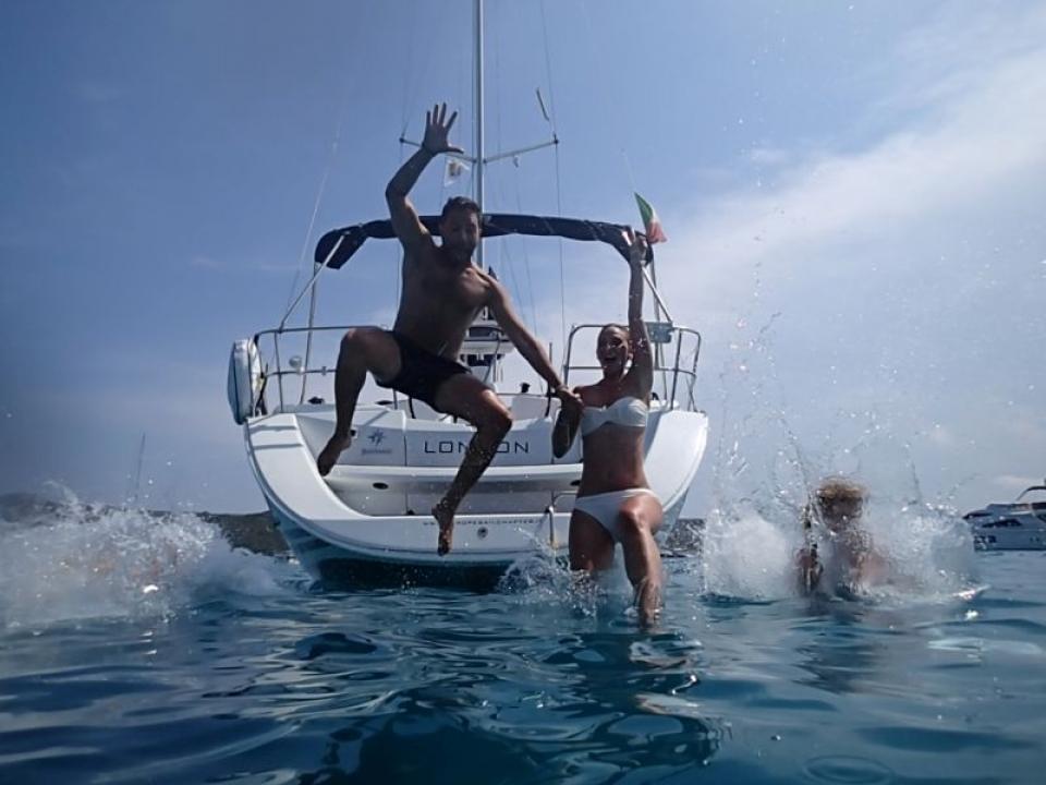 Noleggio barca a vela con skipper Fezzano