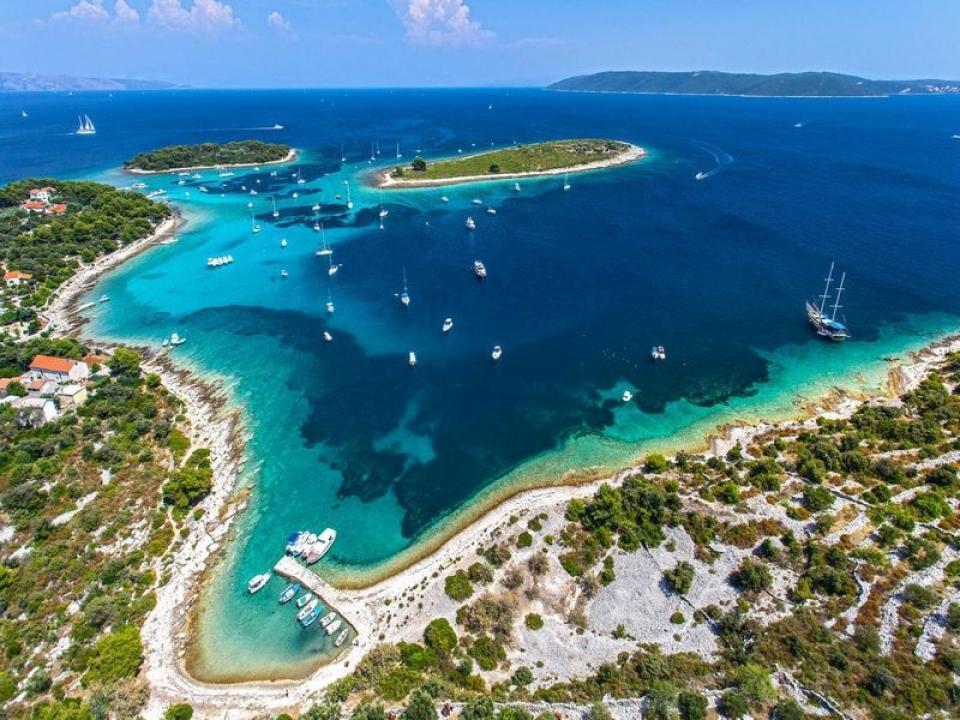 Vacanze barca a vela in Croazia con amici