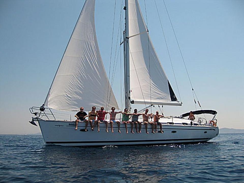 Viaggio in barca a vela con amici
