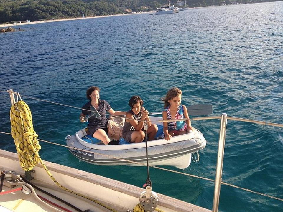 Viaggio in barca a vela coi bimbi