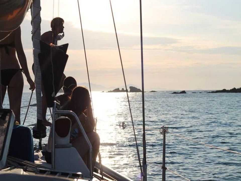 Toscana in barca a vela, le isole Elba e Giglio