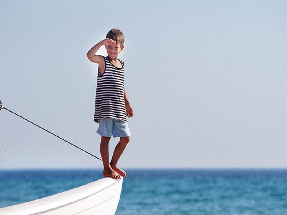 Mini vacanza in barca con la famiglia
