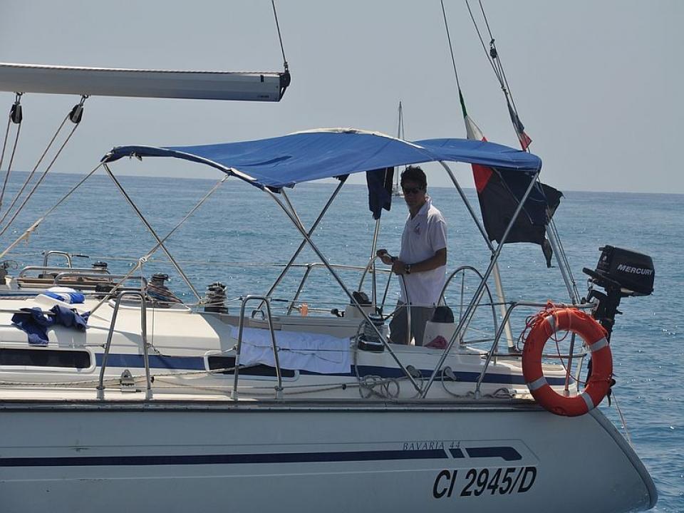 Gita in barca a vela a Portofino