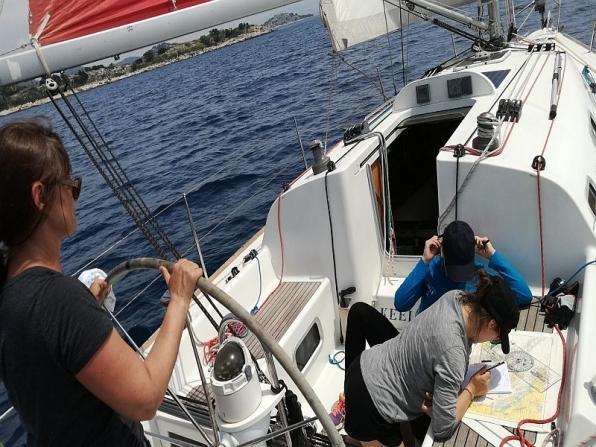 Crociere didattiche in barca Ponza