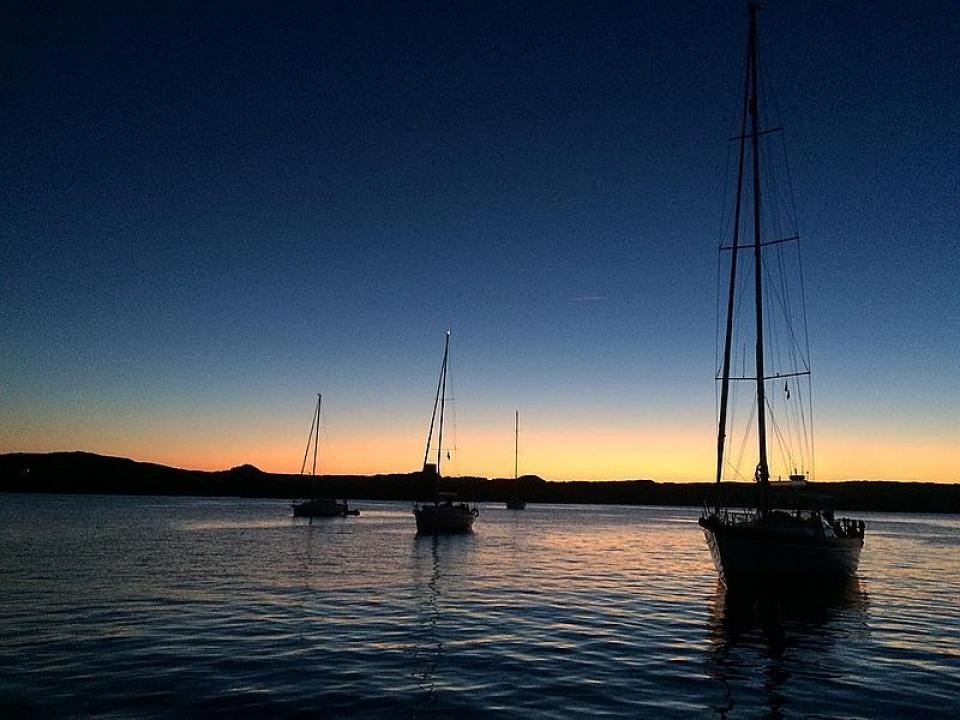 Gita in barca a vela in Cilento