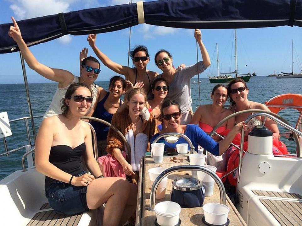 Addio al nubilato con skipper 5 Terre