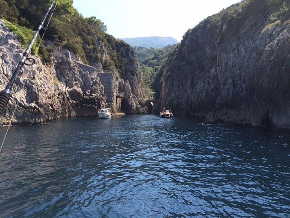 Addio al nubilato con skipper a Capri