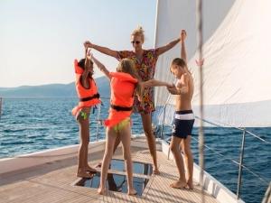 Gite in barca per scuole a Ponza