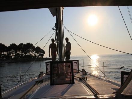 2 Giugno in barca in Istria