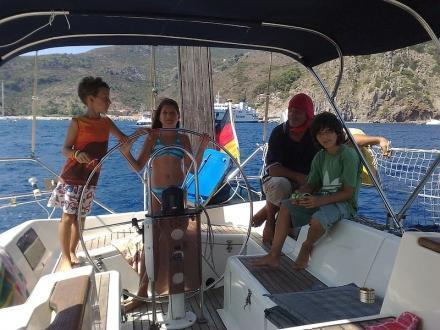Vacanze in barca a vela Isole Pontine e Flegree