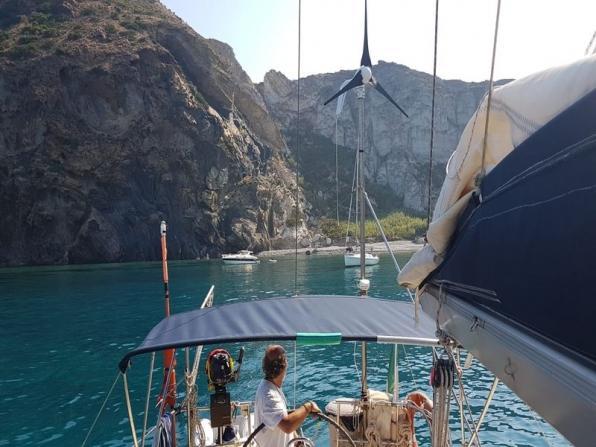 Escursione in barca a vela da San Felice Circeo
