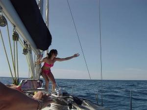 Week end in barca a vela Varazze