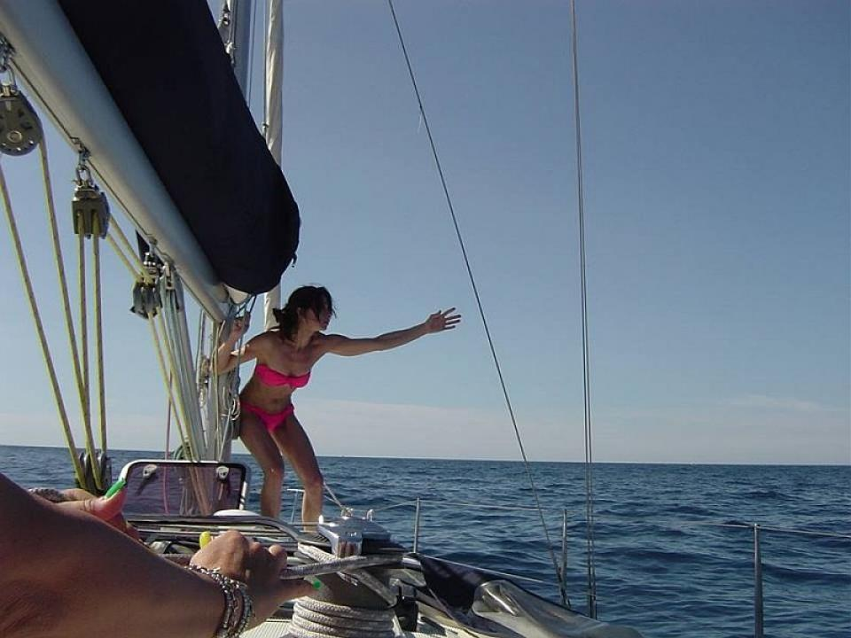 Week end in barca a vela Varazze