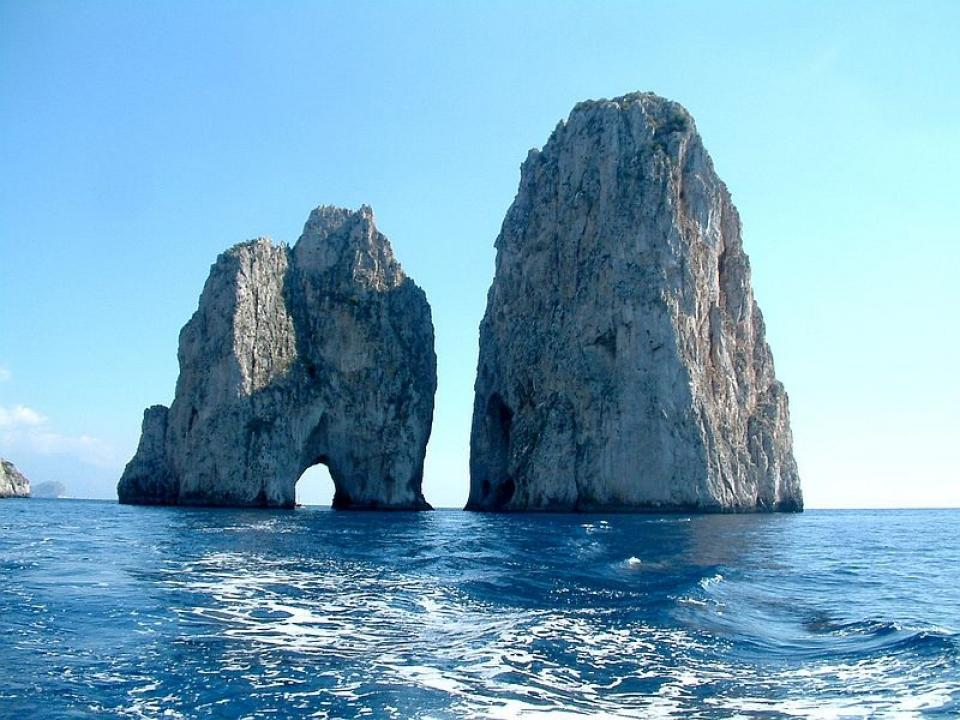 Weekend romantico in barca a vela a Capri
