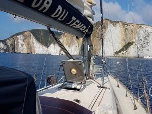 Gita barca vela Ostia
