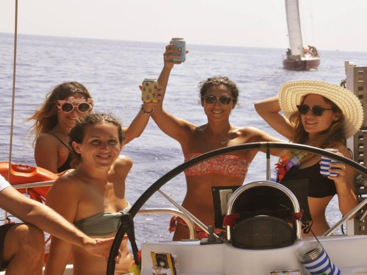 Addio nubilato Isole Toscane
