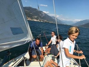 Giornata in barca a vela Lago di Iseo