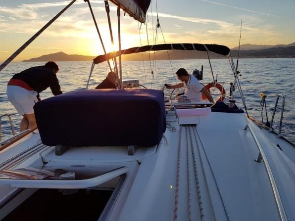 Corsi in barca vela Costa Azzurra